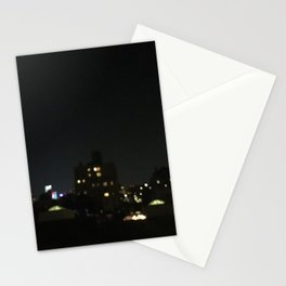 NYC Rooftop: Late Night Stationery Cards