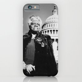 Mary Jane McLeod Bethune - Society6 - Stateswoman Philanthropist Womanist BLM 21 iPhone Case