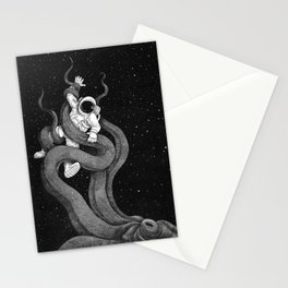 Huston we have a problem Stationery Cards