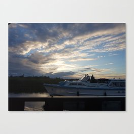 Natural beauty - Sunset Canvas Print