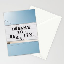 Dreams to Reality Stationery Cards