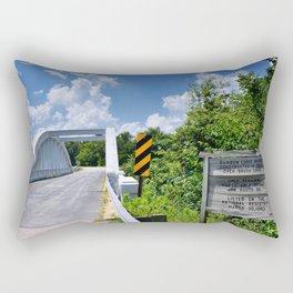 Marsh Arch Bridge on route 66. Rectangular Pillow