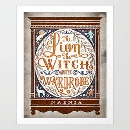 Narnia print Art Print