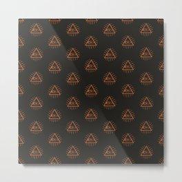 illuminati third eye Metal Print