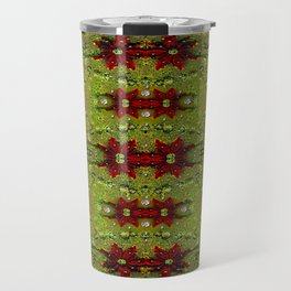 Shield of spice pop art and pattern Travel Mug