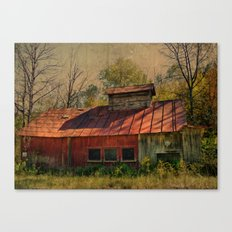 Sugar House Of Old Canvas Print