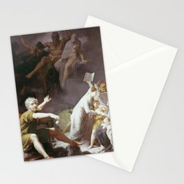 Jean-Baptiste Regnault - L'Homme physique, l'Homme moral, l'Homme intellectuel Stationery Cards