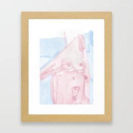 PQ TANTO NUDE? Framed Art Print