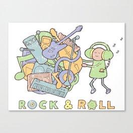Katamari Rock & Roll Canvas Print