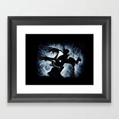 MOMENTOtre Framed Art Print