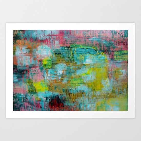 Abstract 70 Art Print