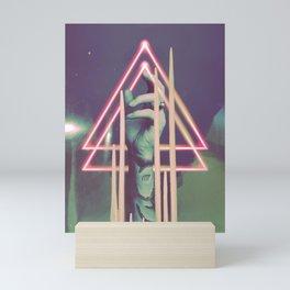 Neon Sanctuary Mini Art Print