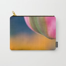 Pink tulip, colorfull background Carry-All Pouch