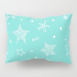 Star Doodles Pillow Sham