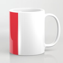 Red Shy Guy Splattery Design Coffee Mug