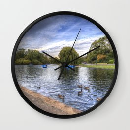 Regents Park London Wall Clock