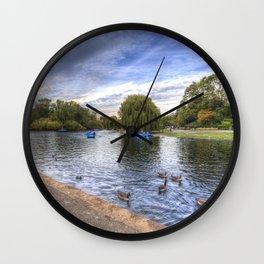 Regents Park London Wall Clock