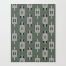 TAMAS DUSTY GREEN Canvas Print