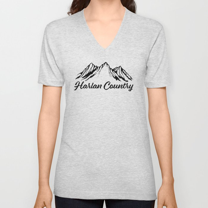 Harlan Country (Dead Hollow) Unisex V-Neck