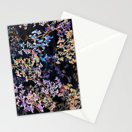 Spring Blossom Dark  Stationery Cards