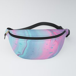 Pink Watercolor Fanny Pack