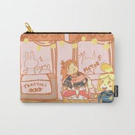 Isabelle's Sakura Festival Carry-All Pouch