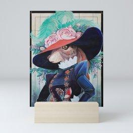 Apple Bun Mini Art Print
