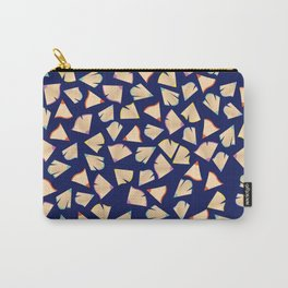 Color Pencil Shavings Pattern Carry-All Pouch