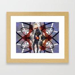 MAKE AN IMPACT Framed Art Print