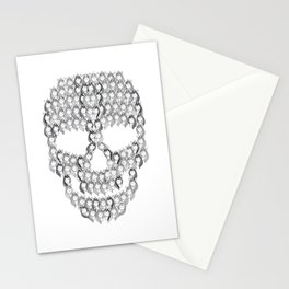 Skull Unicorns | Creepy Rainbow Stationery Cards
