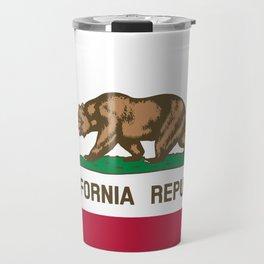 California Flag Travel Mug
