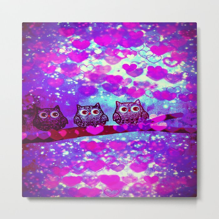 owl-272 Metal Print
