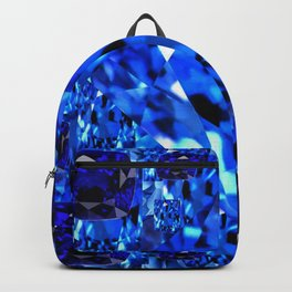 AWESOME SEPTEMBER BLUE  SAPPHIRES GEM BIRTHSTONE ART Backpack