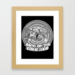 Classic Toonz Gizmo and Bunny Framed Art Print