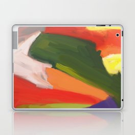 Desert Island Daydreaming Abstract Landscape Laptop & iPad Skin