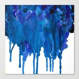SPILLED OCEAN Canvas Print