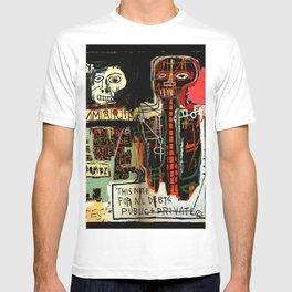 Jean-Michel Basquiat - Notary 1983 T-shirt