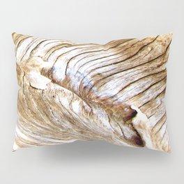 Organic design Tree Wood Grain Driftwood natures pattern Pillow Sham
