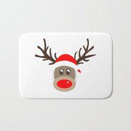 Rudolph Rednose Reindeer Bath Mat