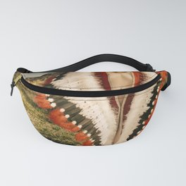 2714 Adorned Feathered Nude Fanny Pack