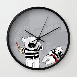 Lamb Shanks Wall Clock