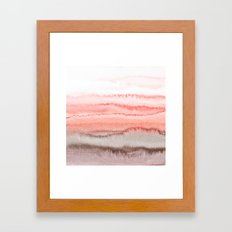 WITHIN THE TIDES CORAL DAWN Framed Art Print