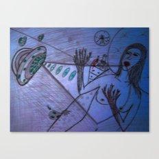 LSD girl Canvas Print