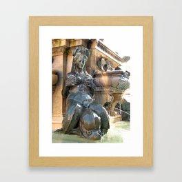 The She-Fountain Framed Art Print