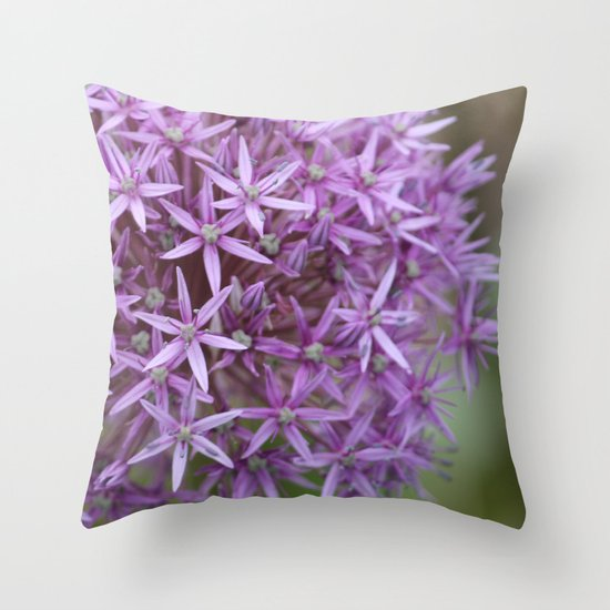 Allium Throw Pillow