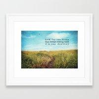 destiny Framed Art Prints featuring destiny by Sylvia Cook Photography