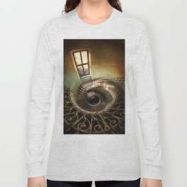 Spiral staircaise with a window Long Sleeve T-shirt
