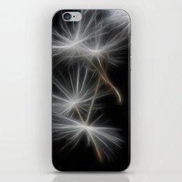 Dandelion Glow iPhone Skin