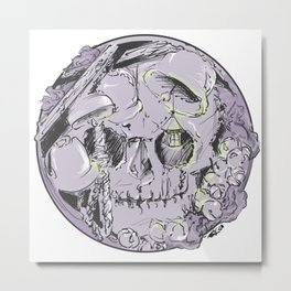 Toll the Dead Metal Print