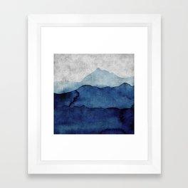 Water color landscape  Framed Art Print